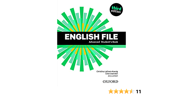English File Advanced Student S Book Amazon Co Uk Oxenden Clive 9780194502405 Books