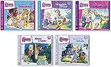 5 CDs - Prinzessin Emmy… und Ihre Pferde - Jeden Tag ein neues Abenteuer - CD 1-5 im Set - Deutsche Originalware [5 CD