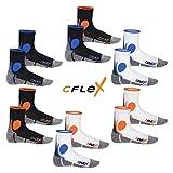 CFLEX 2 Paar Original Running Socks für Damen & Herren - stoßabfedernd