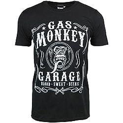 Oficial Gas Monkey Garage Sangre Sudor Cervezas