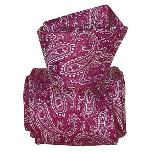 Segni et Disegni - Cravate Classique Segni Disegni, Denver Violet