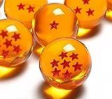 7 Sterne Dragonball - 7 Dragonballs kaufen - Dragonballs kaufen für Cosplay Kostüm - Manga Anime Set Son-Goku - Vegeta - Shenlong Kugeln kaufen