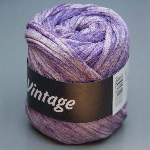 Lana Grossa Vintage 005 broken violet 50g Wolle