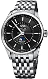 Oris Artix Complication Moonphase Automatic Steel Mens Watch Calendar 915-7643-4034-MB