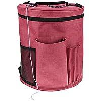 YOOAP Bolsa de tejer fácil de transportar para lana, proteger el hilo y evitar enredos. Bolsa de almacenamiento para ganchillo y hilo de tejer