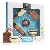 Schokoladige Kochutensilien - Aus Vollmilchschokolade