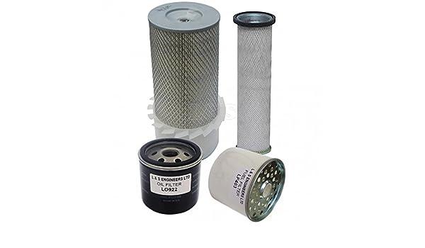 Lister TS2//TS3 Engine Filter Service Kit for Thwaites 4000 Dumper