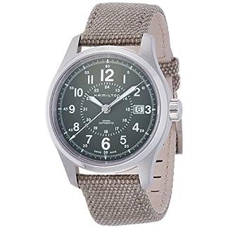 Hamilton Reloj Analogico para Hombre de Automático con Correa en Tela H70595963