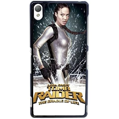 W2N51 Lara Croft Tomb Raider The Cradle of Life High Resolution Poster S1R8FD cover sony Xperia Z3 Cell Phone Case Cover Black DJ0YJR2HK