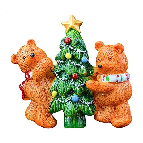 Wanyudz Auto Lufterfrischer Outlet Clip Parfüm Ornament Weihnachtsmann Hund Dekorationen Weihnachten -