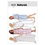 Butterick BTK 6838 (XS-S-M) Schnittmuster zum Nähen, Elegant, Extravagant, Modisch