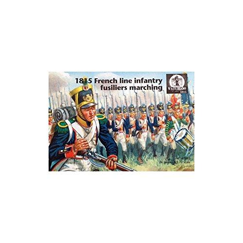 Waterloo 1815ap061-Figuras 1815French Line Infantry Fusiliers de Marcha