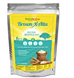 #9: NutroActive BrownXatta (DIGESTIVE ATTA) High Fiber & Low Carb Flour 900 gm