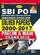 SBI PO Solved papers 2000-2017 Prelim and Main Exams 2018-2200