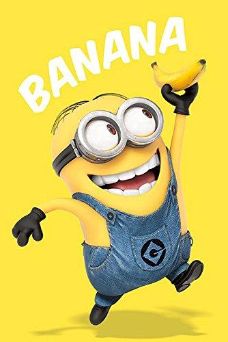 empireposter - Despicable Me - Minions Banana  - Größe (cm), ca. 61x91,5 - Poster, NEU -