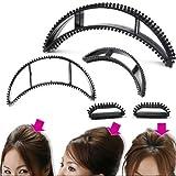 #9: Blackbond Hair clip Volumizing Puff Maker Party Hairdos Women hair clip Hair Style Maker- Set Of 5 pcs.
