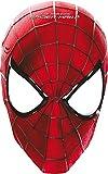 Procos 82945.–Masken Papier Amazing Spider Man 2, 6Stück, rot