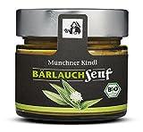 Münchner Kindl Senf Bio Bärlauch Senf, 180 ml