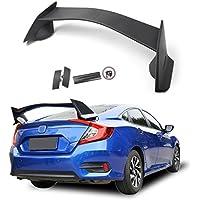 Areyourshop - Alerón trasero de plástico ABS estilo R para Civic 4Dr ...