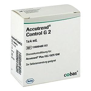 ACCUTREND Control Glucose Loesung, 1X4 ml