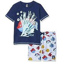 14695a90e242 Tuc Tuc Camiseta+bermuda Punto Peces Niño Arrecife De Cora Completino  Bambino