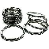 """Moxx 32mm Stainless Steel Split Rings 1-1/4"""" (10 Pcs)"""