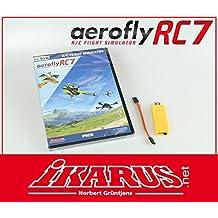 aerofly RC7 Professional DVD mit USB-Interface für Grp. HoTT