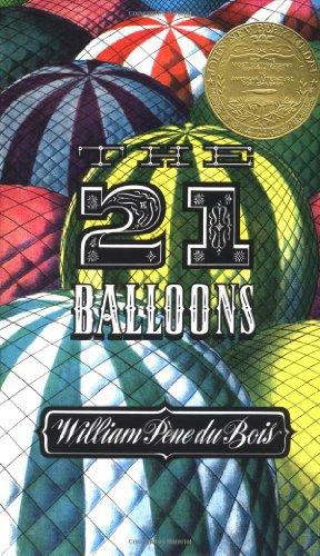 Du Bois William Pene : Twenty-One Balloons