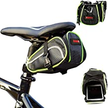 Urvoix(TM) - Bolsa de almacenamiento para sillín de bicicleta (cierre de velcro)
