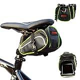 Urvoix sella della bicicletta, outdoor impermeabile bici coda posteriore ciclismo portaoggetti sotto sella Pouch W/velcro