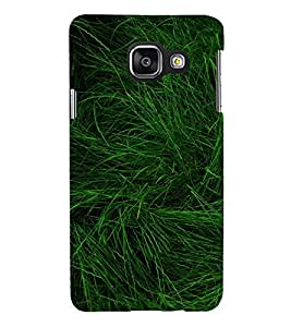 green Grass 3D Hard Polycarbonate Designer Back Case Cover for Samsung Galaxy A3 :: Samsung Galaxy A3 Duos :: Samsung Galaxy A3 A300F A300FU A300F/DS A300G/DS A300H/DS A300M/DS