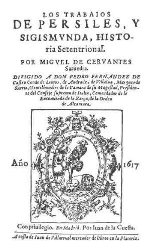 Los trabajos de Persiles y Sigismunda por Miguel de Cervantes Saavedra