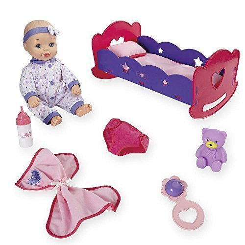 You U0026 Me 14 Inch Baby With Bed Deluxe Set By Toysrus