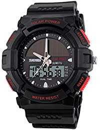Panegy - Deportivo Digital Reloj LED Resistente al Agua Relojes Impermeable Múltiples Funciones Alarma Cronómetro para