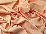 Floral matt & Shine Stretch Baumwolle Kleid Stoff