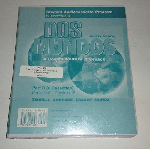Student Audiocassette Program to Accompany DOS Mundos