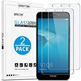 [2 Pièces] Huawei Honor 5C (5.2 pouce) Film Protection D'écran Verre Trempé (0,26mm HD ) OMOTON ...