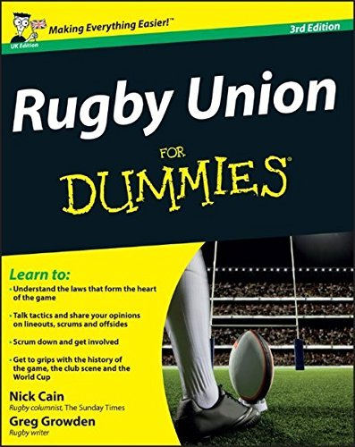 Rugby Union For Dummies by Nick Cain (2011-12-06)
