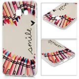 Samsung Galaxy A5(2016) Coque - YOKIRIN® TPU Souple Coloré Phone Case Cover Motif Crayons Colorées