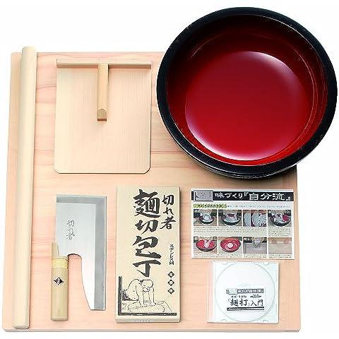 Set soba YutakaMinorumen-da, tagliatelle udon colpire DVD introduttivo, A-1015 (japan import)