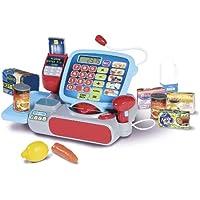 Casdon Supermarket Till and AmazonBasics batteries