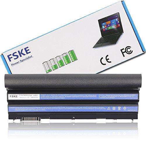 FSKE® 8858X T54FJ Laptop Akku für Dell N3X1D 71R31 M5Y0X NHXVW Latitude E6420 E6440 E6430 E5430 E6530 E5530 E6520 E5520 Dell Inspiron 7520 5720 Vostro 3460 3450 Notebook Battery, 11.1V 6600mAh 9-Zelle