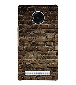 PrintVisa As Thick As A Brick 3D Hard Polycarbonate Designer Back Case Cover for YU Yunique