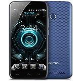 HOMTOM HT50 4G LTE Smartphone Android 7.0 (3GB RAM 32GB ROM, 13MP + 13MP Dual Kamera, 5500mAh Akku, 5.5 Zoll HD Screen, Dual SIM Handy ohne vertrag, Fingerabdruck GPS OTG OTA) - Blau