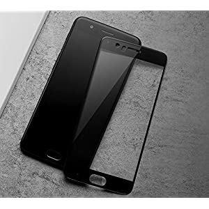 SHOPKART Tempered Glass for One Plus 5(Black)