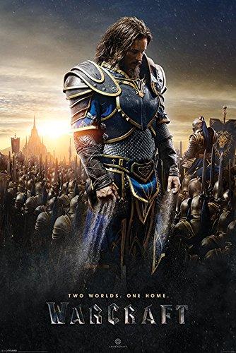 """Warcraft Lothar """"Maxi Poster, in legno, colore: multicolore"""