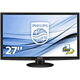 Philips 273E3LHSB/00 68,6 cm (27 Zoll) Monitor (VGA, DVI, HDMI, 1920 x 1080, 60 Hz, 1ms Reaktionszeit) schwarz