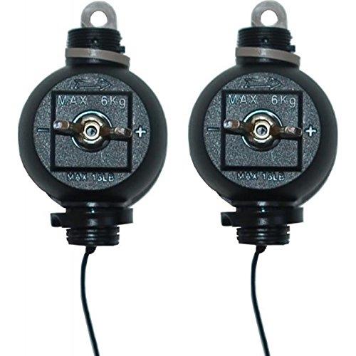 GrowPRO Easy Rolls zum stufenlosen Aufhängen von Lampen/Reflektoren - 2 Stück EasyRolls