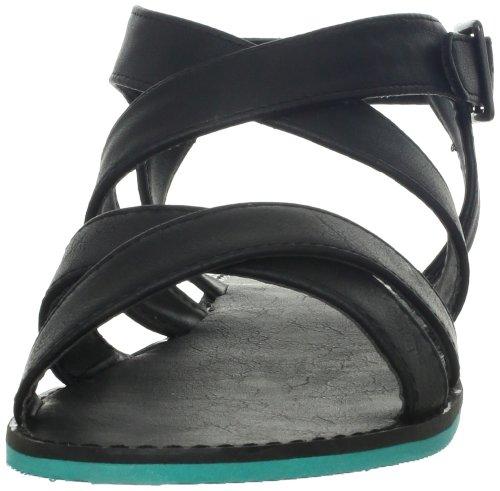 Madden Girl Rade Toile Sandale Noir - noir