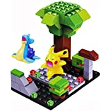 Emob Cartoon Character Theme 3D Block Set With 2 Mini Figure Puzzle Learning Toy For Kids (71pcs)